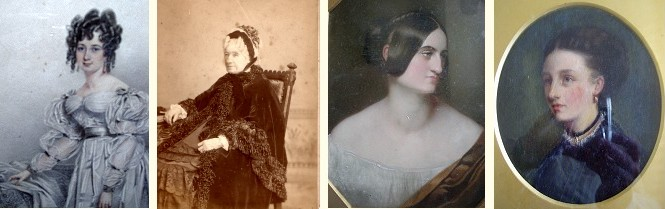 Young and old Ann Hudson, Fanny Hudson and Maria Ann Hudson